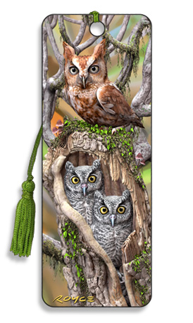 Image for Owls 3D Bookmark