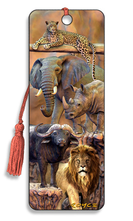 Image for Big Five 3D Bookmark