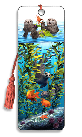 Image for Sea Otters 3D Bookmark