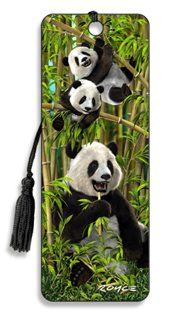 Image for Pandas 3D Bookmark