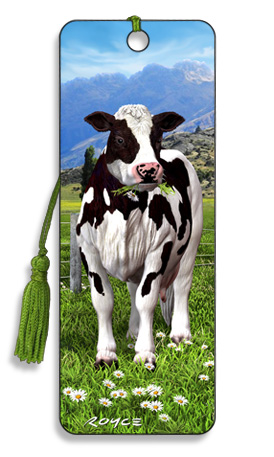 Image for Daisy Fresian Dairy Cow 3D Bookmark