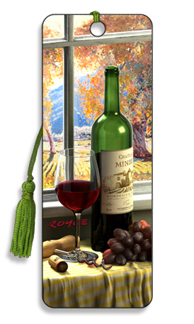 Image for Chateau Minden Wine 3D Bookmark