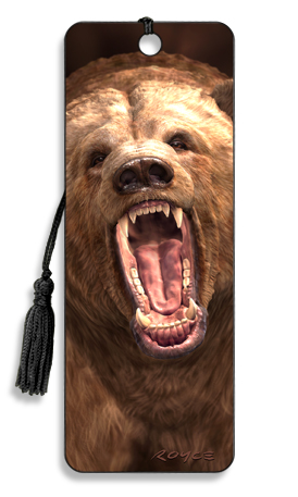 Image for Grizzly Bear 3D Bookmark