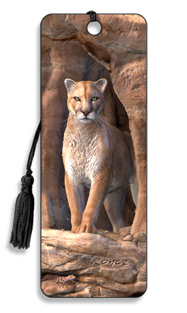 Image for Cougar 3D Bookmark