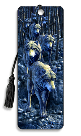 Image for Wolf Pack 3D Bookmark