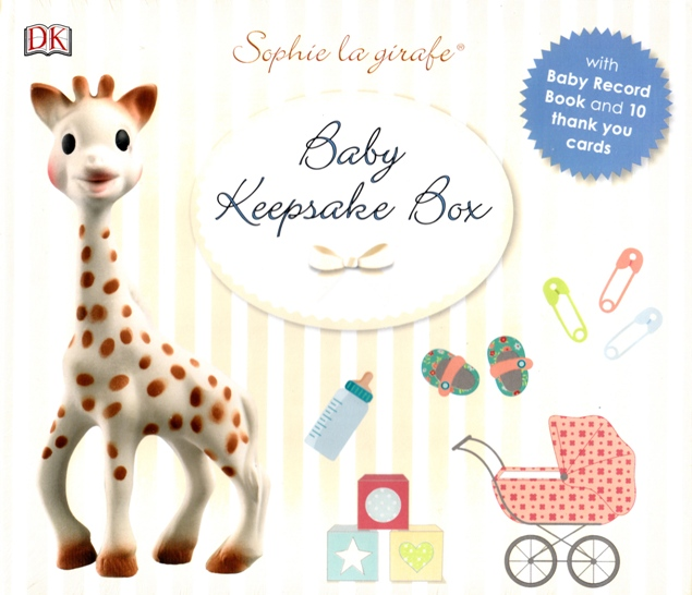 Image for Sophie La Girafe Baby Record Keepsake Box