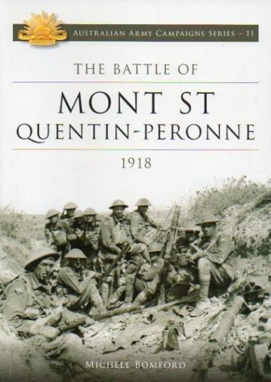 Image for Battle of Mont St Quentin-Peronne 1918 #11 Australian Army Campaigns Series