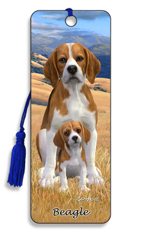 Image for Beagle 3D Bookmark