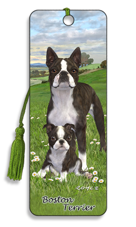 Image for Boston Terrier 3D Bookmark