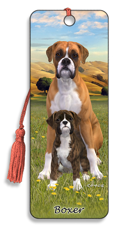 Image for Boxer Dog 3D Bookmark