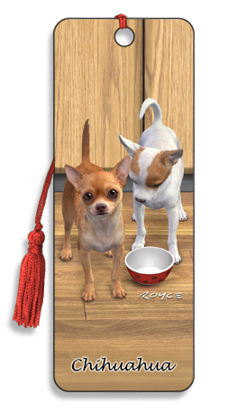 Image for Chihuahua 3D Bookmark