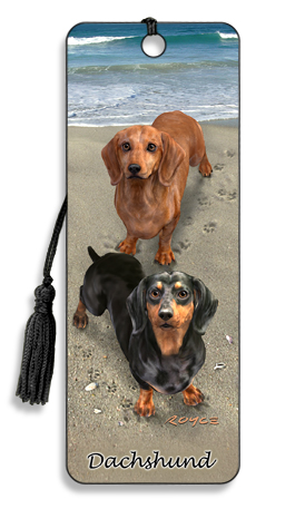 Image for Dachshund 3D Bookmark