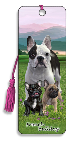 Image for French Bulldog 3D Bookmark