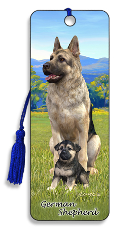 Image for German Shepherd 3D Bookmark