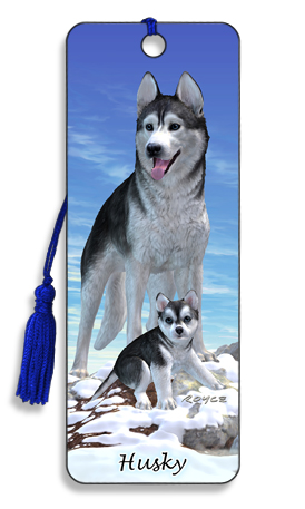Image for Husky 3D Bookmark
