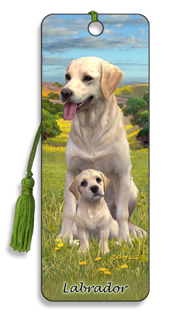 Image for Labrador 3D Bookmark