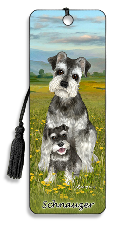 Image for Schnauzer 3D Bookmark
