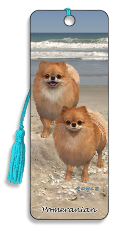 Image for Pomeranian 3D Bookmark