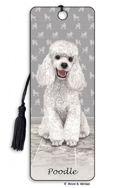 Image for Poodle flip effect 3D Bookmark
