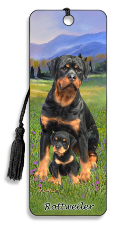 Image for Rottweiler 3D Bookmark