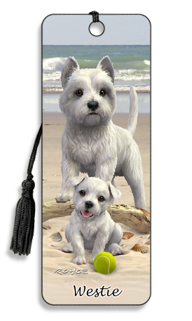 Image for Westie 3D Bookmark