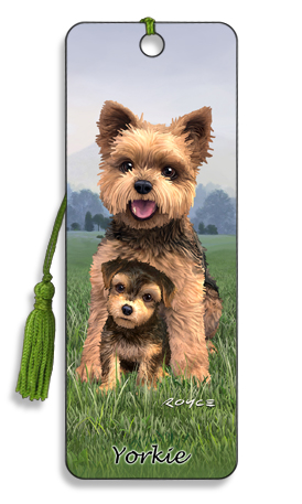 Image for Yorkie 3D Bookmark