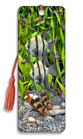 Image for Angelfish 3D Bookmark