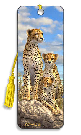 Image for Cheetahs 3D Bookmark
