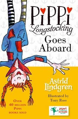 Image for Pippi Longstocking Goes Aboard #2 Pippi Longstocking