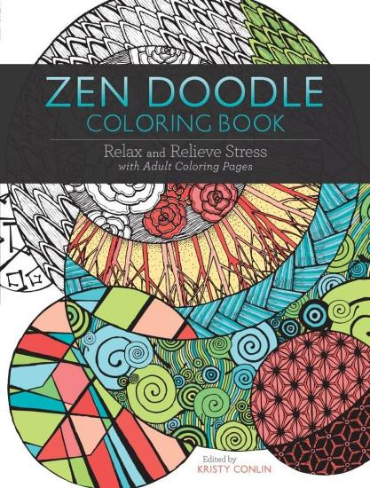Image for Zen Doodle Coloring Book: Relax and Relieve Stress with Adult Coloring Pages
