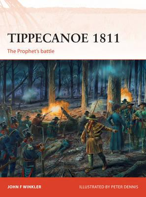 Image for Tippecanoe 1811: The Prophet's Battle #287 Osprey Campaign