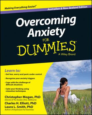 Image for Overcoming Anxiety for Dummies, Australian and New Zealand Edition