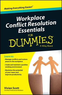 Image for Workplace Conflict Resolution Essentials For Dummies