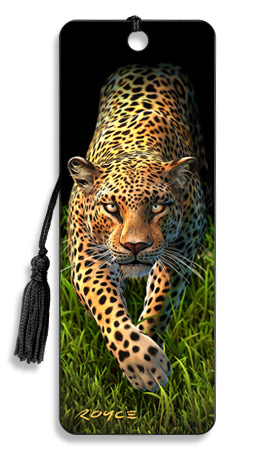 Image for Leopard 3D Bookmark