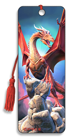 Image for Red Dragon 3D Bookmark