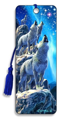 Image for Northern Choir Wolves 3D Bookmark