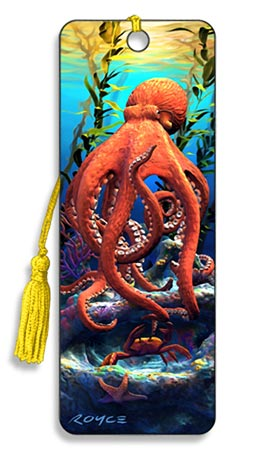 Image for Big Bad Octopus 3D Bookmark