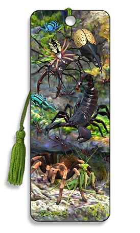 Image for Creepy Crawlies 3D Bookmark