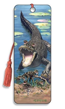 Image for Gators 3D Bookmark