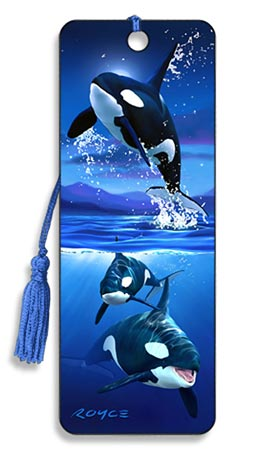 Image for Orcas Killer Whales 3D Bookmark
