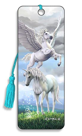 Image for Pegasus and Unicorn 3D Bookmark