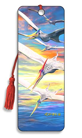Image for Pteranodons Dinosaur 3D Bookmark