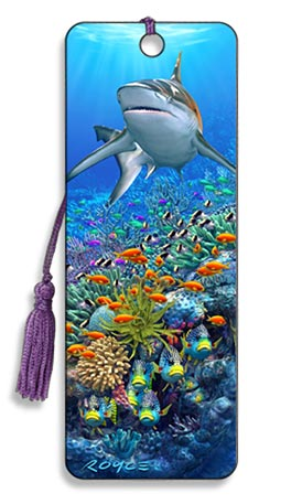 Image for Reef Shark 3D Bookmark