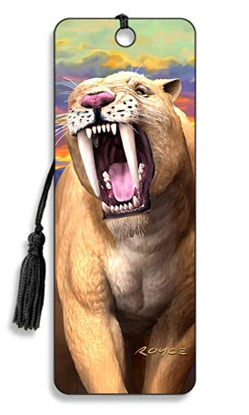 Image for Sabretooth 3D Bookmark
