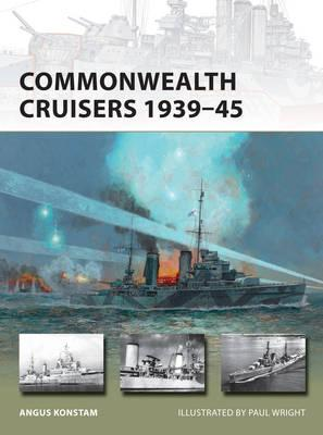 Image for Commonwealth Cruisers 1939-45 #226 Osprey New Vanguard