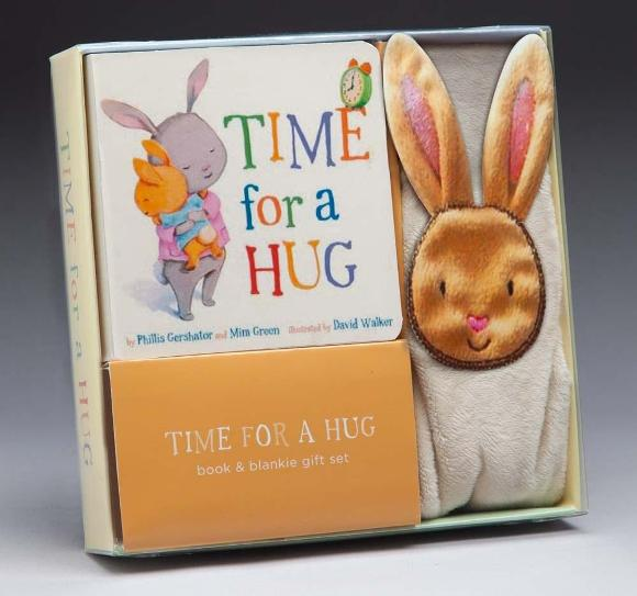 Image for Time for a Hug Book & Blankie Gift Set