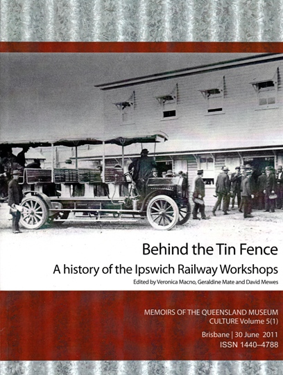 Image for Behind the Tin Fence: A History of the Ipswich Railway Workshops