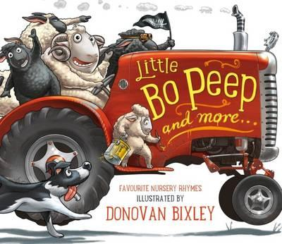 Image for Little Bo Peep and More...Favourite Nursery Rhymes Board Book