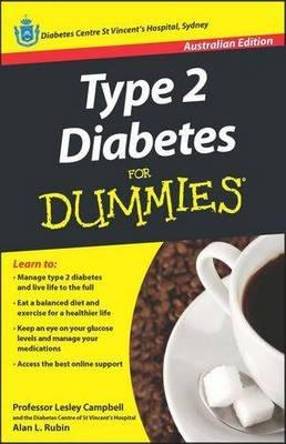 Image for Type 2 Diabetes for Dummies # Australian Edition