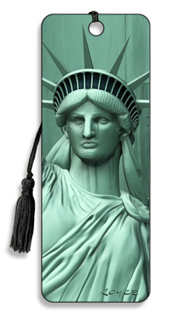 Image for Liberty Statue of Liberty 3D Bookmark